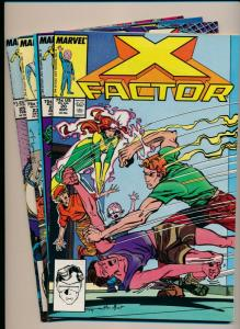 MARVEL X-FACTOR LOT of 4-X-FACTOR #20-25 FINE/VERY FINE (PF682)