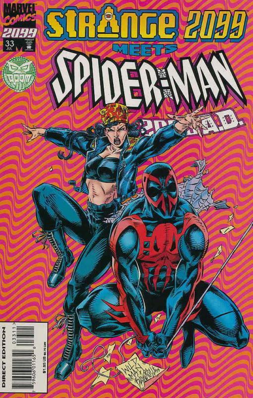 Spider-Man 2099 #33 VF/NM; Marvel | save on shipping - details inside