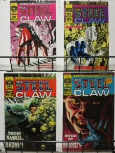STEEL CLAW (1986 F/Q) 1-4 WITCHBLADE TYPE CHARACTER!