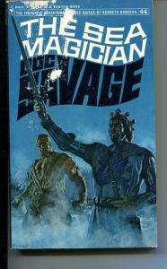 DOC SAVAGE-THE SEA MAGICIAN-#44-ROBESON-G-JAMES BAMA COVER-1ST EDITION G
