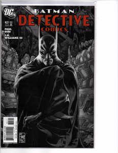 DC Comics Detective Comics #821 Batman; Paul Dini Story Simone Bianchi Cover