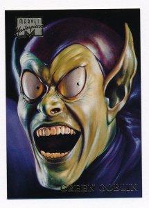 1996 Marvel Masterpieces #17 Green Goblin