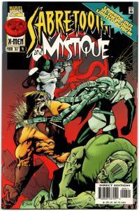 Sabretooth & Mystique #4 (Marvel, 1997) FN