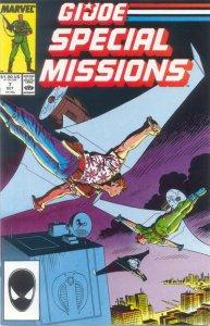 G.I. JOE Special Missions #7 Marvel Comics (ungraded) stock photo / ID#B-4 / 001