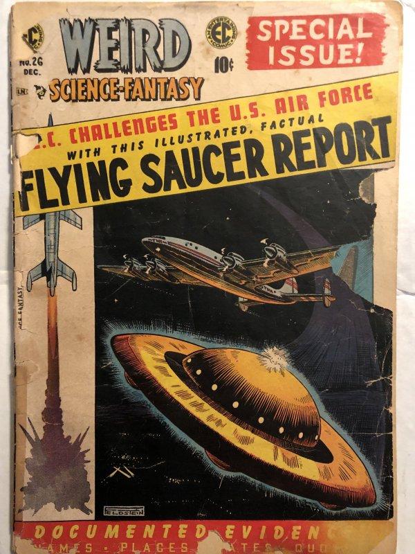 Weird science fantasy 26... fair.. Feldstein cover!