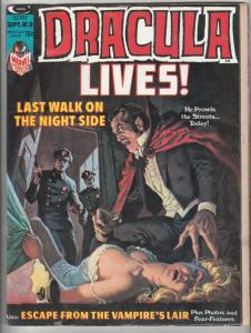 Dracula Lives #8 (Aug-73) FN- Mid-Grade Dracula