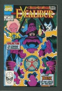 Excalibur #25  /  8.5 VFN+  August 1990