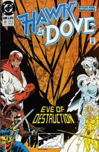 Hawk and Dove (3rd Series) #17 VG; DC   low grade comic - save on shipping - det