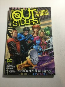 Outsiders The Darker Side Of Justice Nm Near Mint Tpb DC Comics