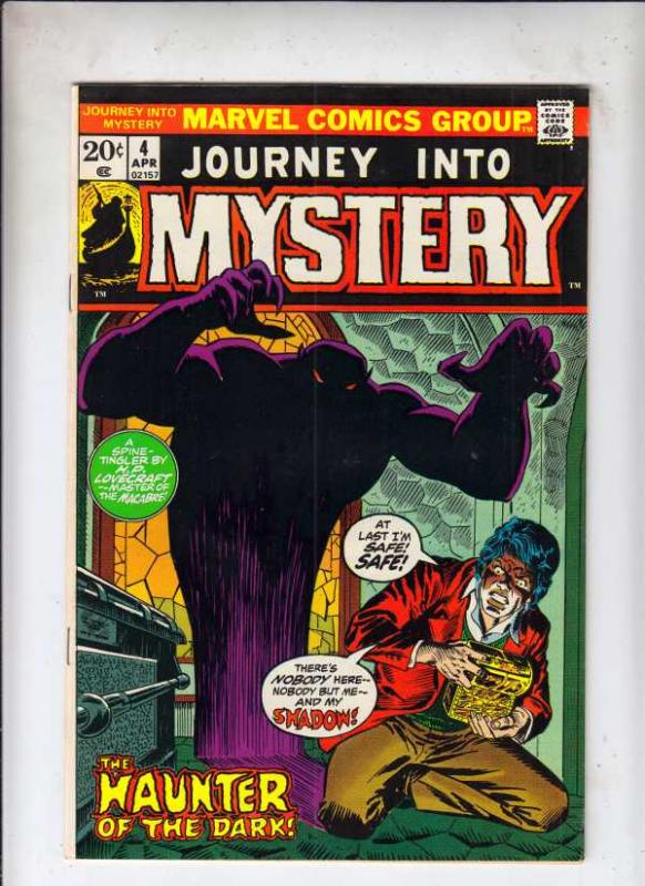 Journey into Mystery #4 (Apr-73) NM- Mid-Grade