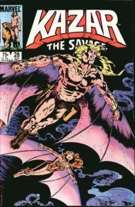 Ka-Zar the Savage #28, NM- (Stock photo)