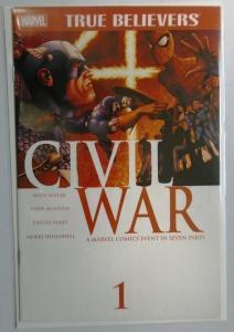 True Believers Civil War #1, 8.0/VF (2015)