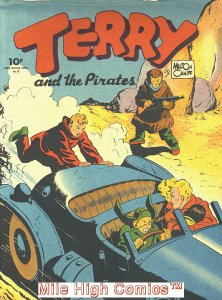 TERRY & THE PIRATES LARGE FEATURE COMIC (1939 Series) #6 REPRINT Very Good