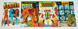 Codename: Danger #1-4 complete series - keith giffen/paul gulacy/kyle baker set