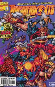 Thunderbolts #25 FN; Marvel | save on shipping - details inside