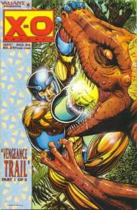X-O Manowar (1992 series) #34, NM (Stock photo)