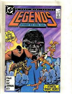 Legneds # 1 NM- DC Comic Book Darkseid Superman Batman Shazam Firestorm J383