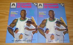 Shaquille O'Neal #1 VF/NM comic + signed & numbered variant - barry bonds set