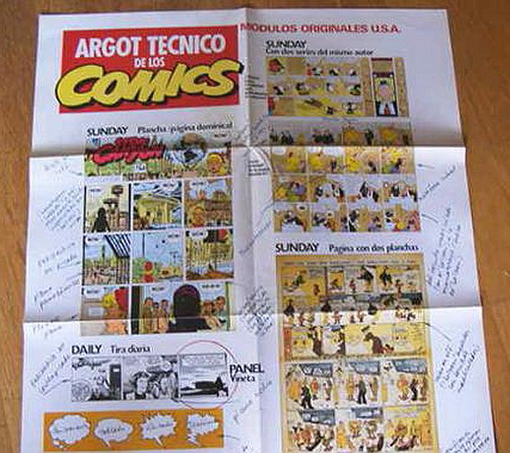 ARGOT Tecnico HISTORIA DE LOS COMICS Póster