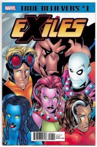 True Believers Wolverine Exiles #1 (Marvel, 2018) NM