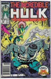 Incredible Hulk   vol. 1   #337 FN David/McFarlane, Geiger cover, X-Factor