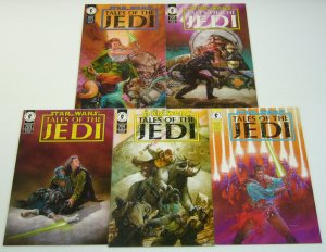 Star Wars: Tales of the Jedi #1-5 VF/NM complete series - dave dorman dark horse