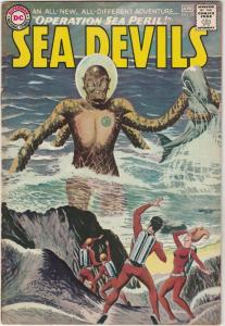 Sea Devils #22 (Apr-65) VF/NM High-Grade Sea Devils (Dane Dorrence, Biff Bail...