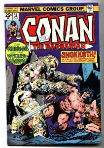 Conan The Barbarian #46 1974- Signed by GIL KANE-Marvel