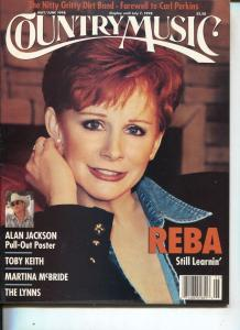 Country Music-Reba McEntire-Alan Jackson-Toby Keith-May-1998