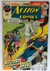 Action #403 DC 1971 VF- Bronze Age Comic Book Giant Issue Superman 1st Print