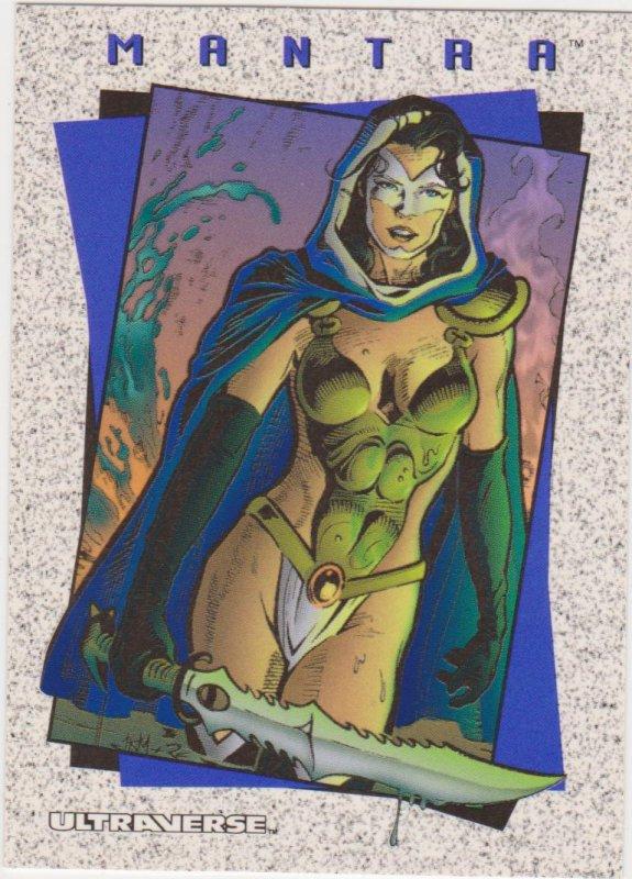 1993 Skybox Ultraverse II Comic Card Promo #P0