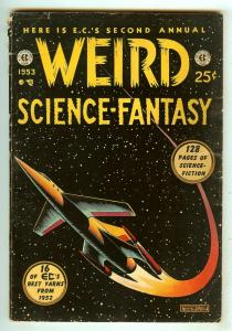 Weird Science-Fantasy Annual 2   Feldstein cover   132 Pages   1953   EC