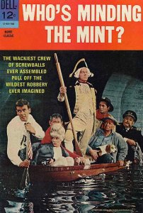Who's Minding the Mint? #1 VG; Dell | low grade comic - save on shipping - detai