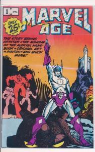 Marvel Age #1, Marvel Comics (HX157)