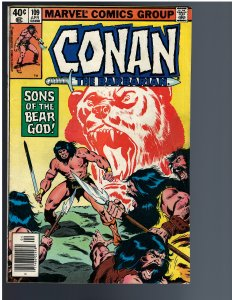 Conan the Barbarian #109 (1980)