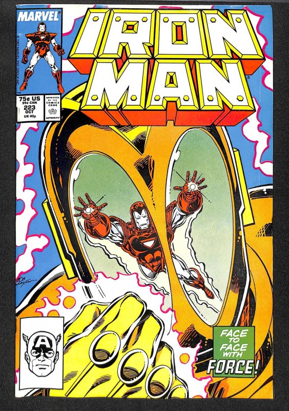Iron Man #223 (1987)