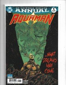 Aquaman Annual #1 DC Rebirth NM Comics Book  mix1