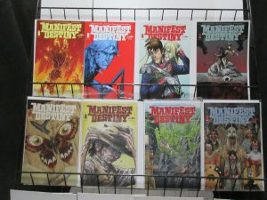 Manifest Destiny (Image Skybound 2013) #3, 5, 6, 8, 9, 10, 11, 12 Lot