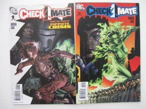 *CHECKMATE LOT 17 Books ('06) Greg Rucka Free Shipping!