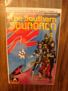 Malibu/Aircel Comics Southern Squadron #1 Mike Grell Cover