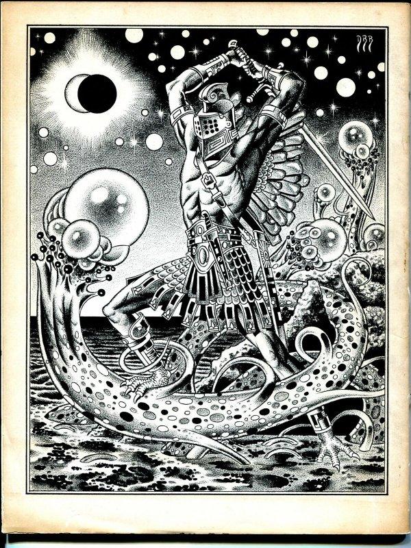 Weirdbook #14 1979-pulp horror-Gene Day-D Bruce Barry-VG