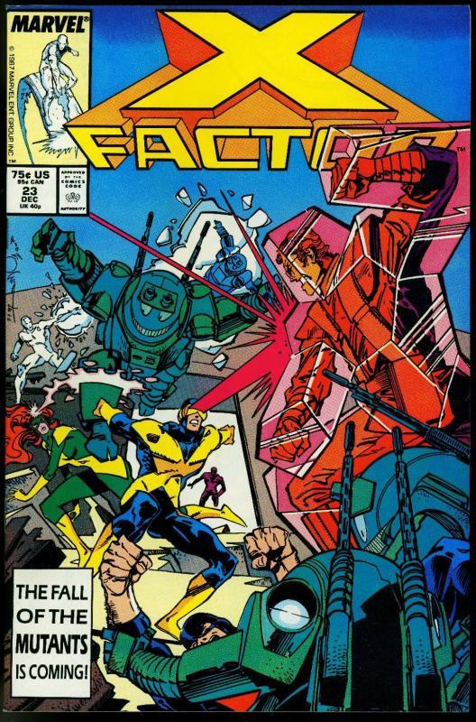 X-Factor #23 1988- Four Horsemen of the Apocalypse X-Men