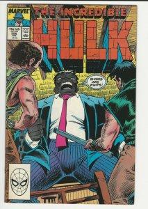 THE INCREDIBLE HULK Issue # 356 (June, 1989, Marvel Comics)
