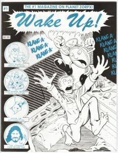 Wake Up! Magazine #1 (Win-Mill, 1991) New!