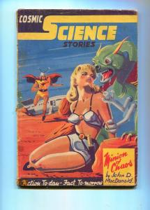 COSMIC SCIENCE STORIES 1940-BOARDMAN-JOHN D MACDONALD-G/VG