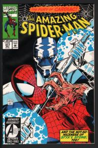 AMAZING SPIDER-MAN #377-MARVEL COMICS NM-CARDIAC