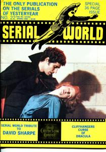 Serial World #22 1980-Curse of Dracula-David Sharpe tribute-Cliffhangers-FN/VF