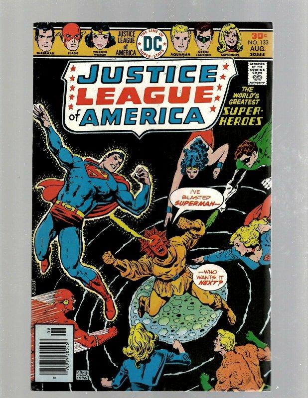 7 Justice League Of America DC Comic Books # 128 133 134 135 139 140 141 GK34