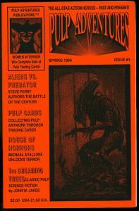 Pulp Adventures Fanzine #4 1994 Pulp Cards Aliens v Predator FN