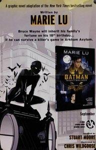 Marie Lu Batman Nightwalker Folded Promo Poster (17x11) New! [FP50]